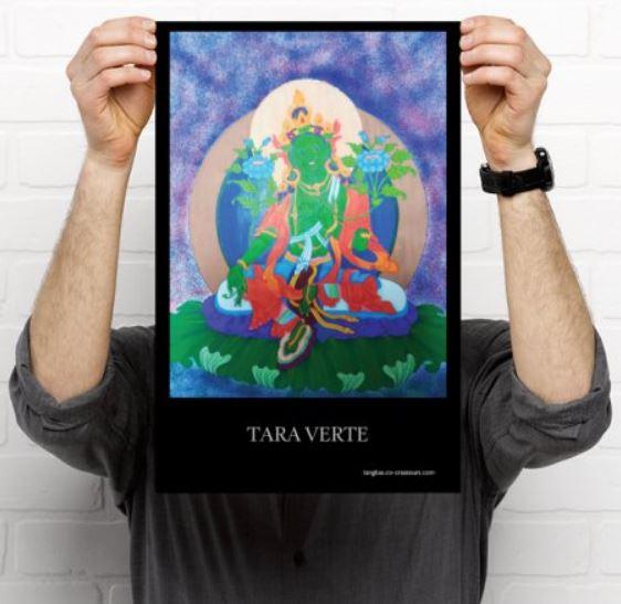 Poster Tara verte