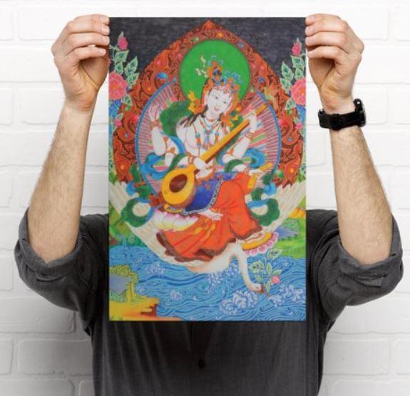 Poster Sarasvati