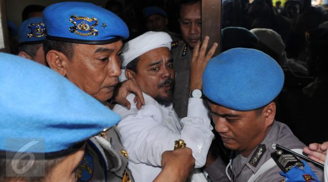Rizieq Shihab Dipolisikan dengan Pasal Penistaan Agama