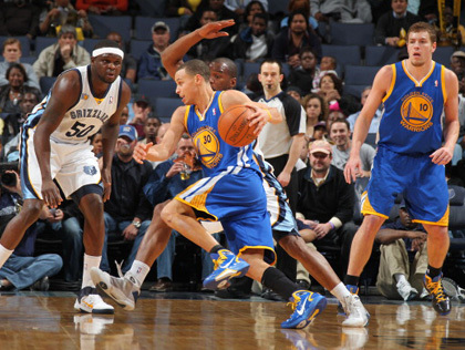 Golden State Warriors Luluh Lantak di kandang Memphis Grizzlies
