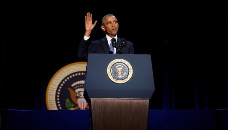 Pidato Perpisahan Barack Obama Presiden USA