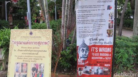 Jangan Beli Suvenir Patung Buddha di Thailand, Pokoknya Jangan –
