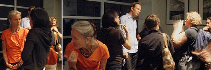 Post-screening reception and meet and mingle with Karina Epperlein (director, Phoenix Dance) and Gerhard Schick (director, Invitation to the Dance)