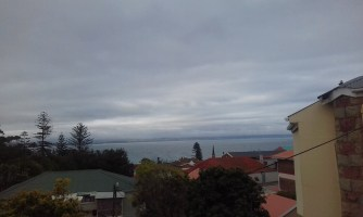 View from the patio in Mossel Bay