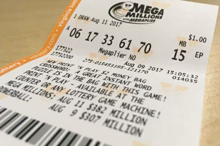 Six Lucky Numbers to Win the Lottery