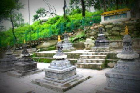 Entrance at Swambhunath temple