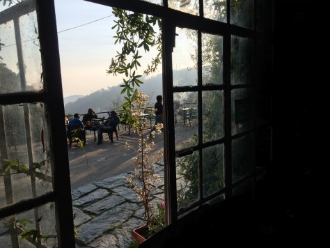 View at Shiva Cafe