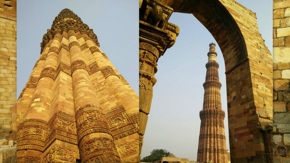 Qutb Minar: Ancient Hindu temples converted into mosques