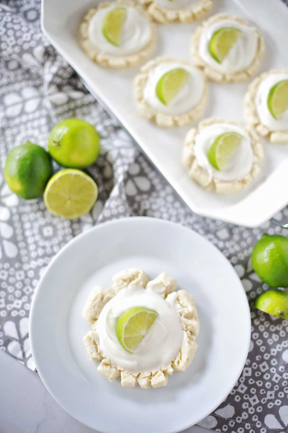 The most amazing sugar cookies in the entire world! Coconut Lime Sugar Cookies by Flirting with Flavor.