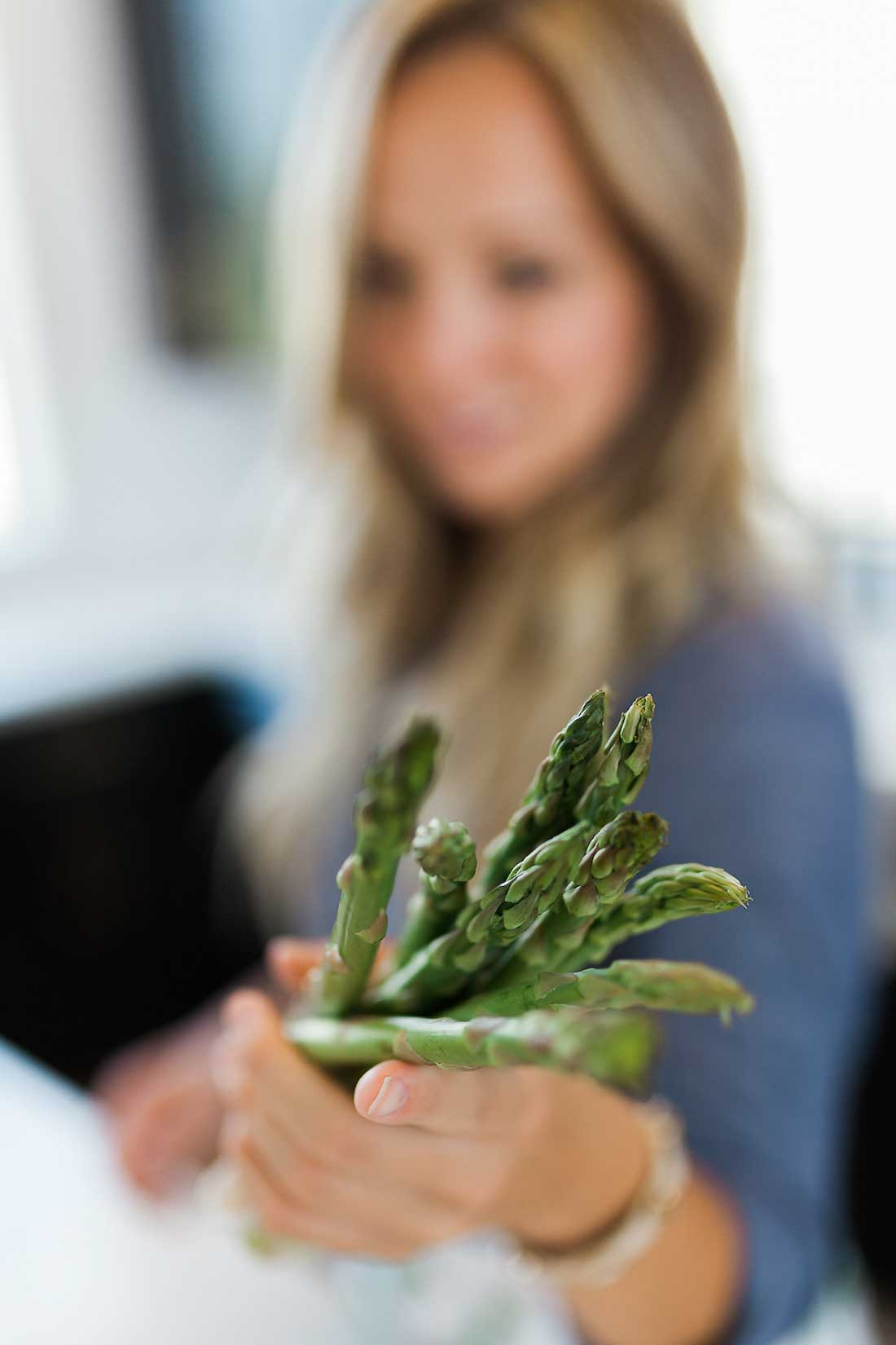 Peel and Grill, the best way to cook asparagus!