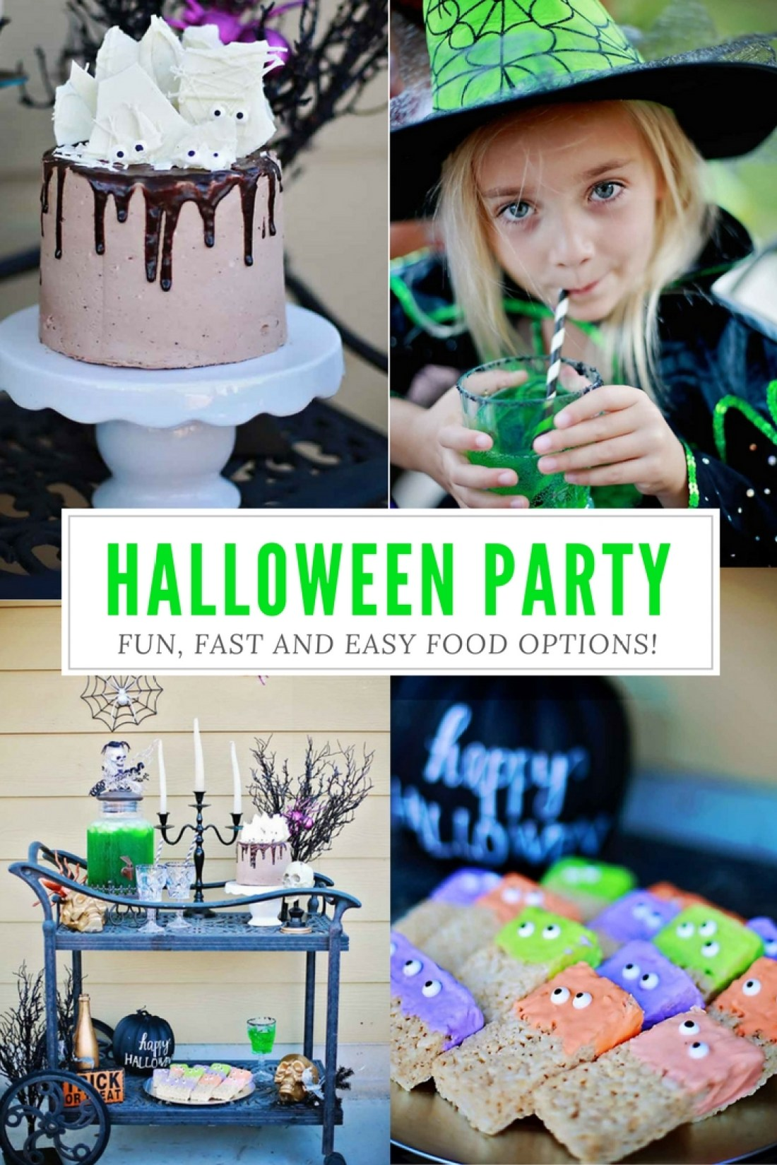 BEST FOOD Options for the ULTIMATE KIDS HALLOWEEN PARTY!