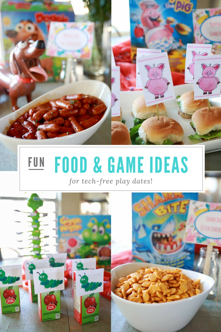 Easy and delicious food ideas for kid parties!