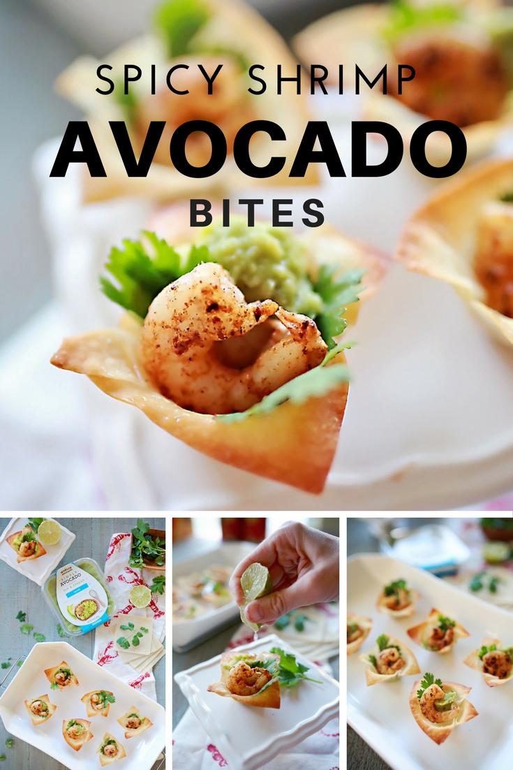 Avocado and Spicy Shrimp Bites Appetizer! Sooo Good!