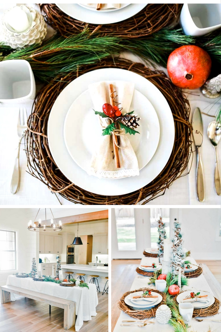gorgeous easy and unique christmas table and christmas decorations
