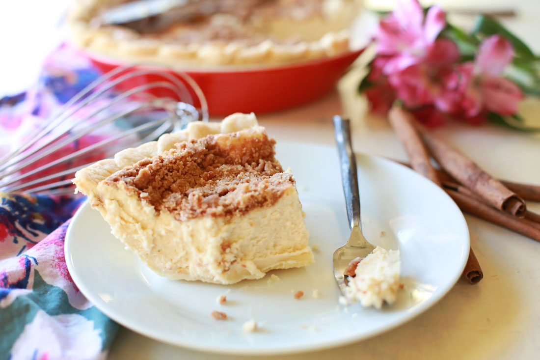 Delicious so papilla cheesecake pie by Tangled with Taste