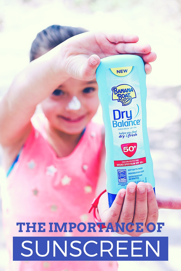 You should always sunscreen your kiddos before outdoor fun!