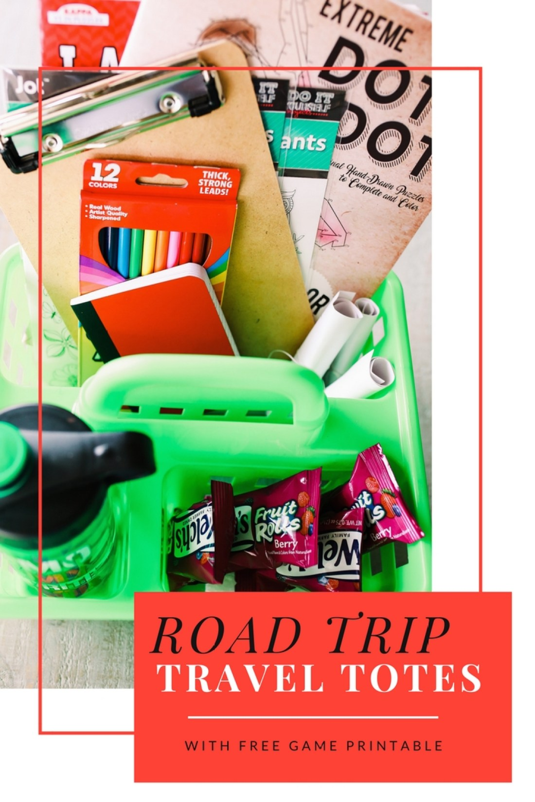 Everything you need plus some great tips and tricks for an awesome tech-free road trip!