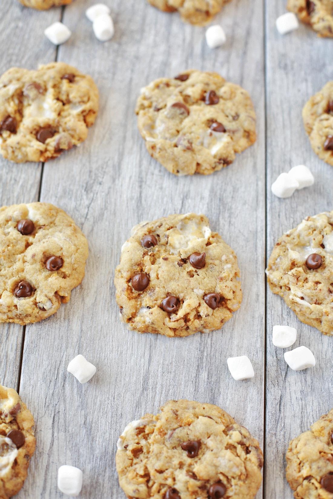 Marshmallow chocolate chip cookies recipe