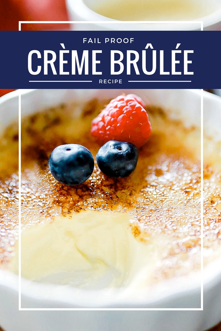 Creme brûlée: an easy recipe for the best creme brûlée you will ever try! This simple creme brûlée recipe is fool proof and tastes heavenly!