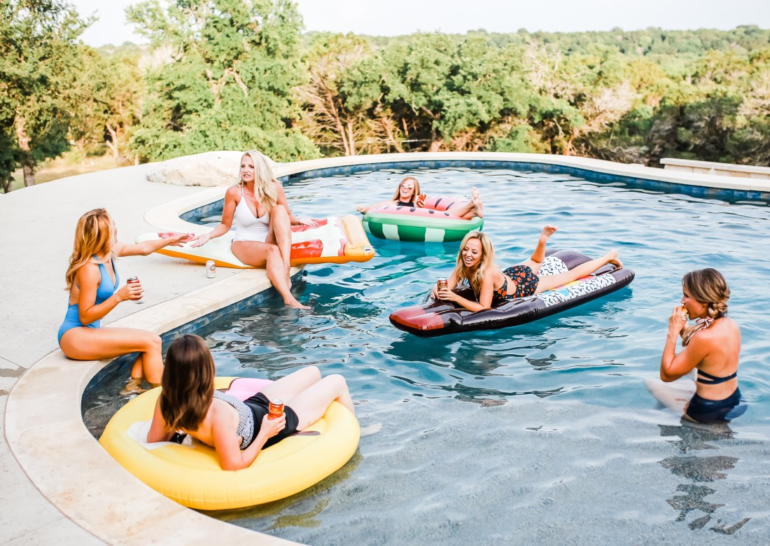How to throw an epic girls night out pool party