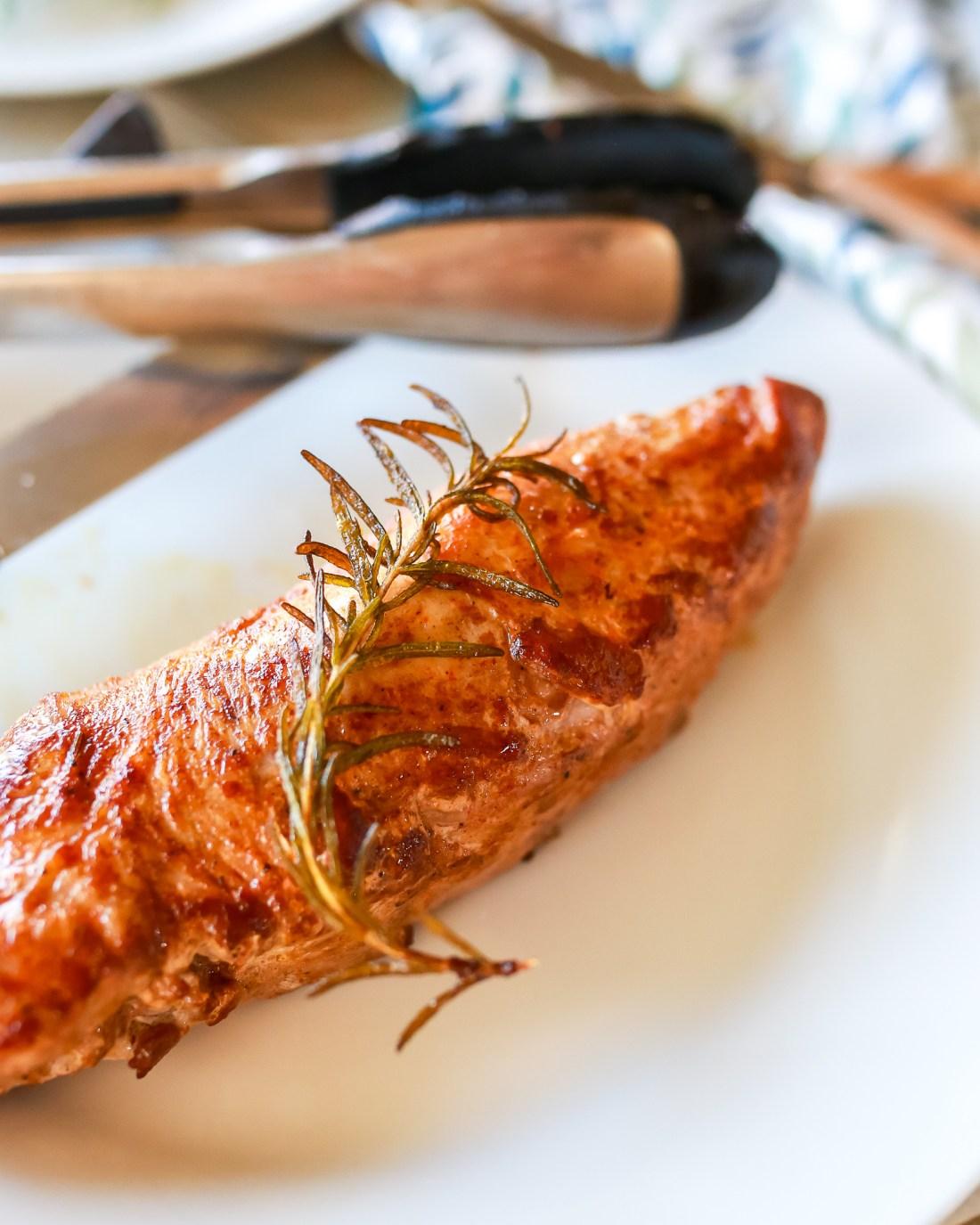 Best ever oven roasted pork tenderloin recipe!