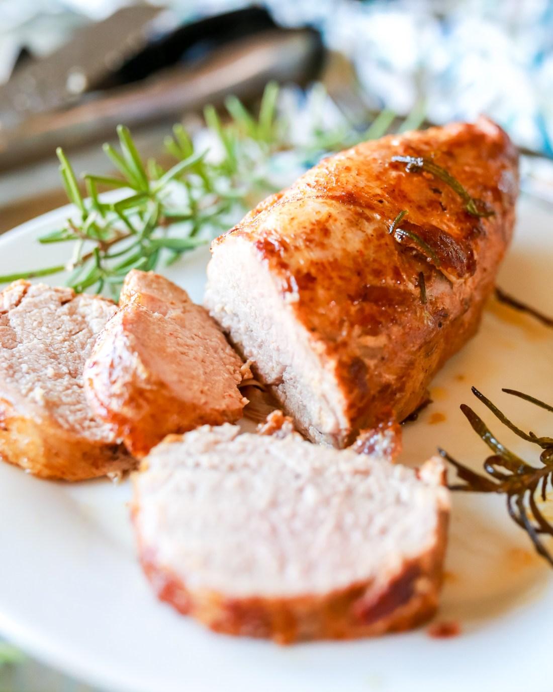 Recipe for lemon rosemary pork tenderloin