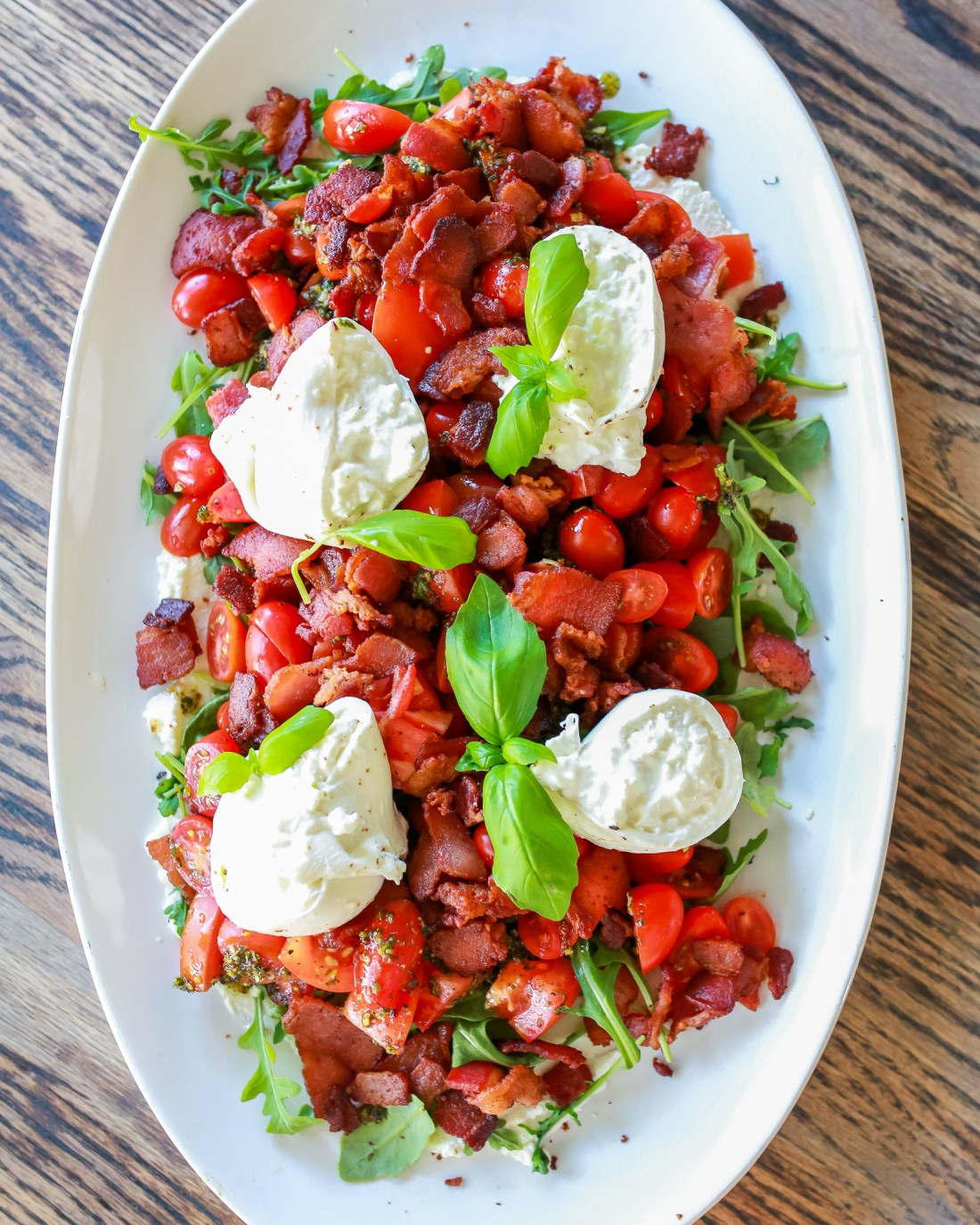 BLT Burrata Salad recipe