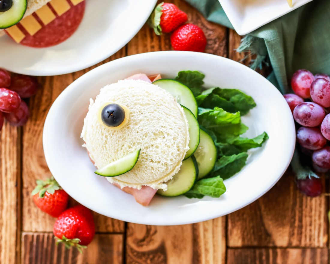 FUN sandwich ideas to get even the pickiest of eaters to partake.