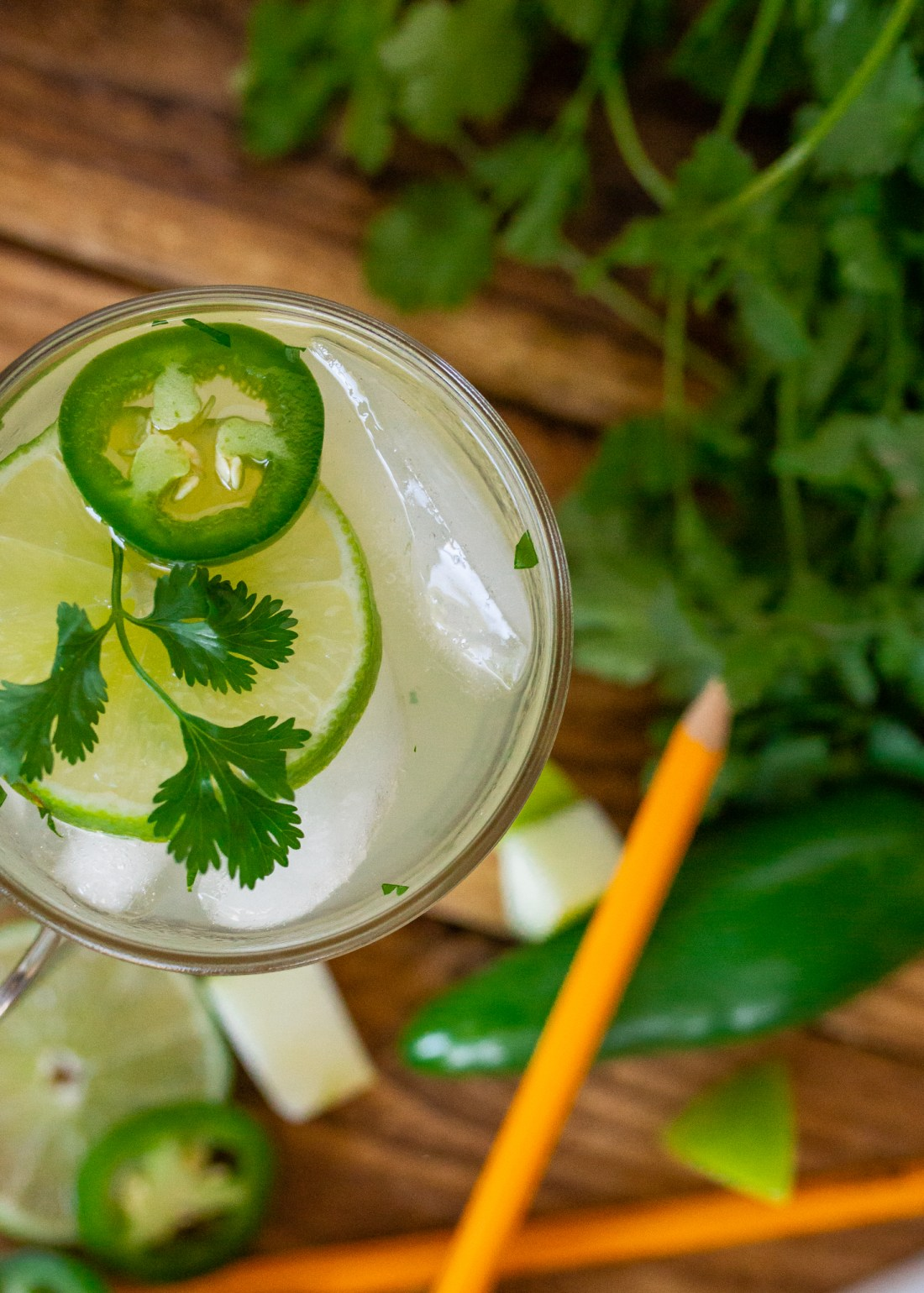 The best margarita mocktail