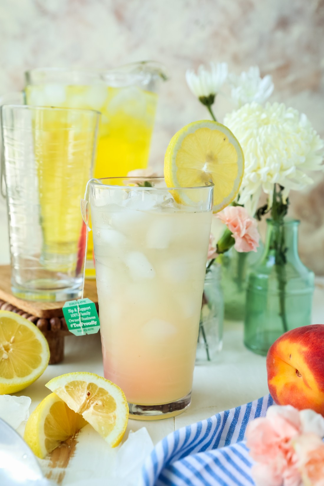 Summertime Lemonade iced Tea recipe