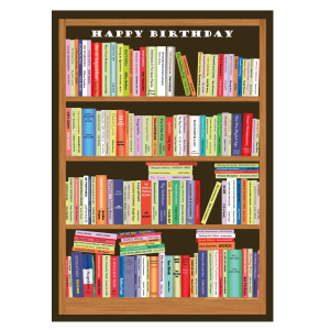 atty Books Birthday Card