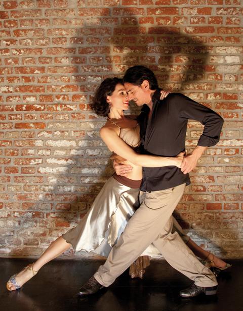 Tango München Galerie - Fabian y Michaela Tangopose