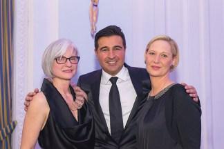 Jeanette Richter, Farid Djabar und Nina Dankert