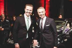 Gastgeber Danny Wegsel und Carsten Blume