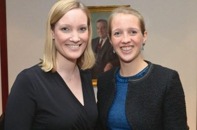 Anna-Lena Schnoor und Caroline Freisfeld
