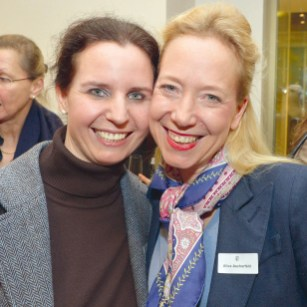 Marina Tcharnetsky und Alice Ascherfeld