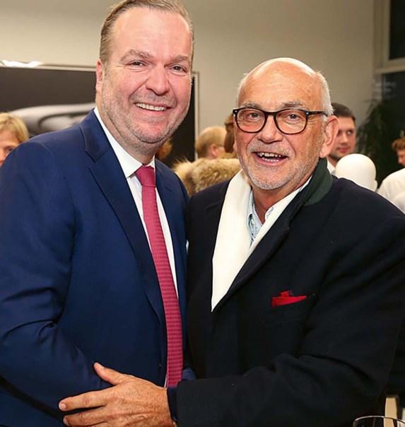 Robert Engstler (Regional Director Bentley Europe) und Karl-Heinz Koch