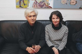 Vladimir Sitnikov und Dr. Klára Erdei
