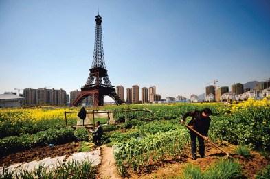 Replica von Paris in China
