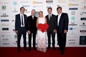 Prof. Dr. Stephan Willems, Prof. Dr. Hermann Reichenspurner, Barbara Karan, Prof. Dr. Eike Sebastian Debus, Prof. Dr. Stefan Blankenberg