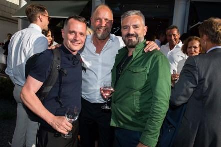 Johnny Talbot, Olaf Thomas; Adrian Runhof