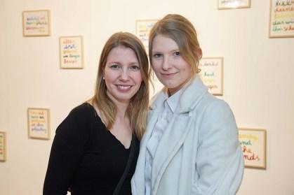 Peggy Stahnke und Franziska Ostermann