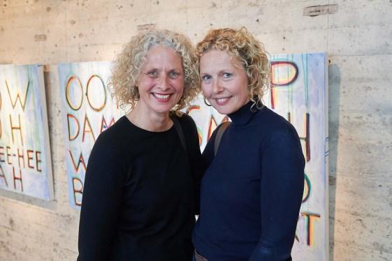 Birgit Rautenberg und Katja Hill-Saadenam
