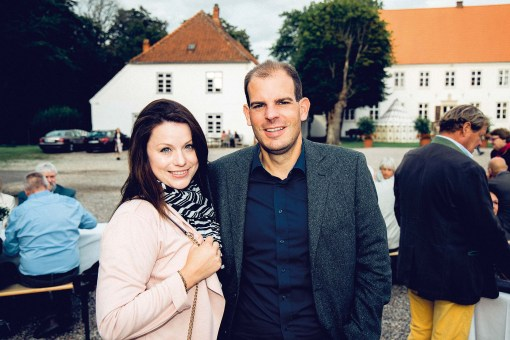 Bonny Sörensen und Marcel Simon
