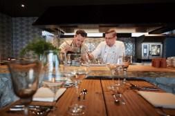 Kulinarische Highlights von Sous Chef Kevin Reiter und F&B Manager Daniel Mattle