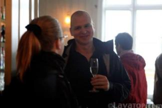 Chatting at Tango on Iceland