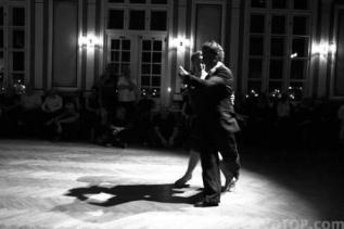 Mette and Martin. Yellow evening at Tango on Iceland 2011 - 2