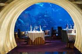 The Underwater Al Mahara Restaurant