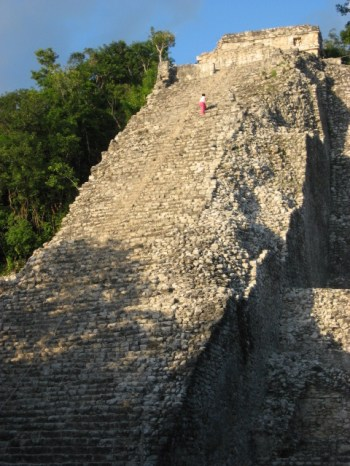 Nohoch Mul- an early Mayan stairmaster