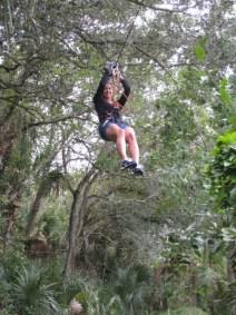 Brevard Zoo TreeTop Trek Zipline